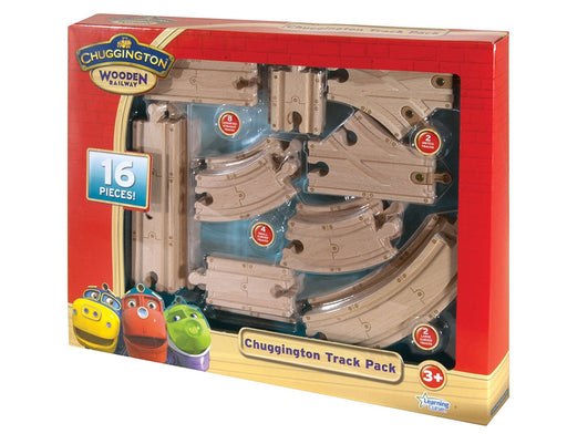 Chuggington Wooden Railway - Track Pack (16 piece)