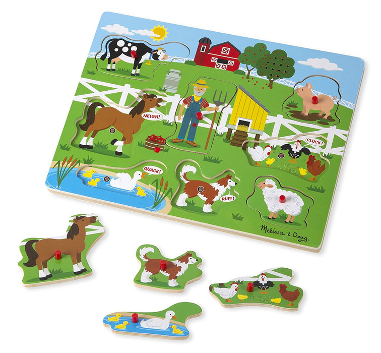 Melissa & Doug Old MacDonald's Farm Song Puzzle