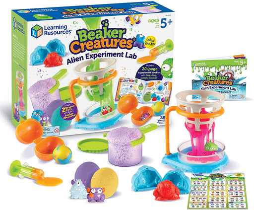 Learning Resources Beaker Creatures® Alien Experiment Lab