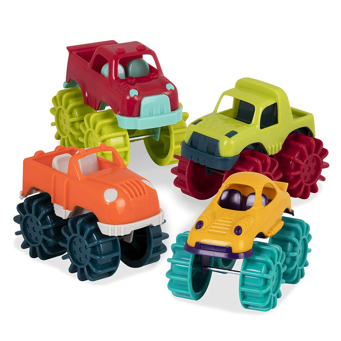 B. Toys Mini Monster Trucks 6 pieces
