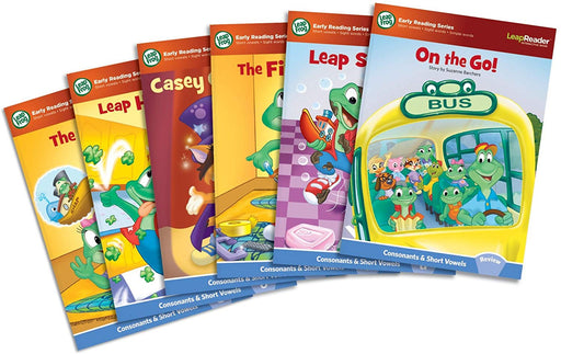 LeapFrog® 3D LeapStart™ Learn to Read Volume 1 (6 Book Set) Beginning Phonics, Short Vowels, Long Vowels