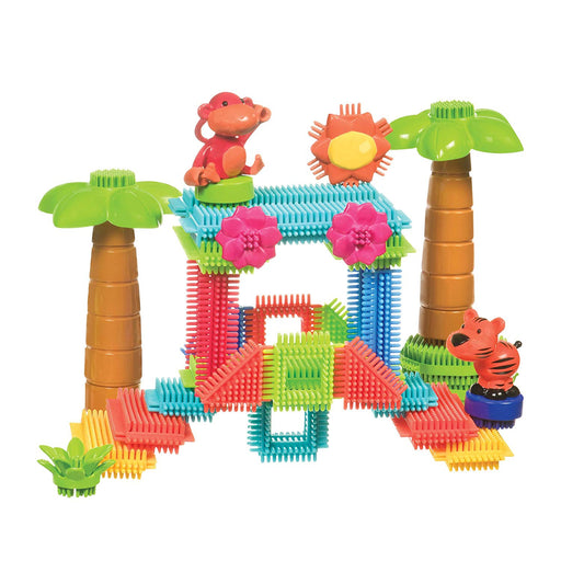 B. Toys Jungle Adventure Storage Bucket 58 Pieces
