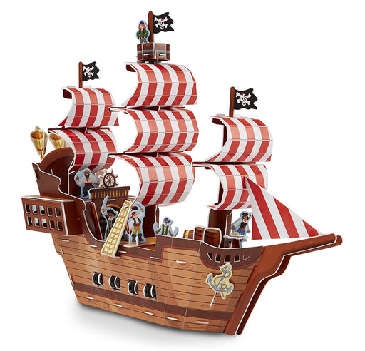 Melissa & Doug & Doug Pirate Ship 3D Puzzle