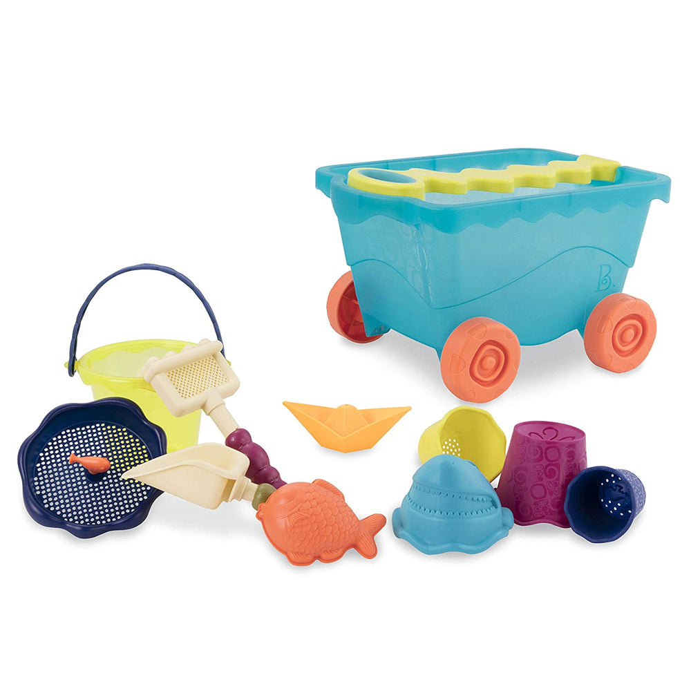 B. Toys Wavy-Wagonª Blue and accessories