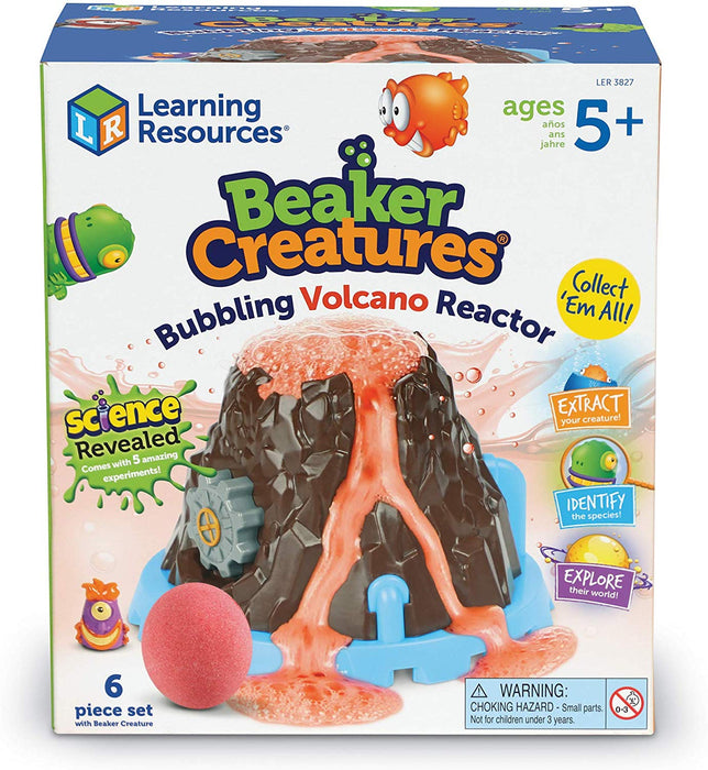 Learning Resources Beaker Creatures® Bubbling Volcano Reactor