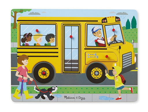 Melissa & Doug and Doug The Wheels On the Bus Song Puzzle