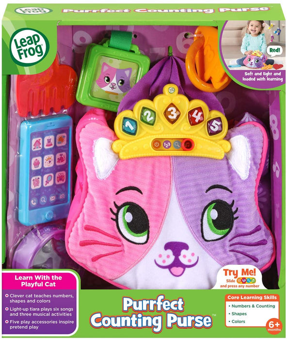 LeapFrog Purrfect Counting Purse
