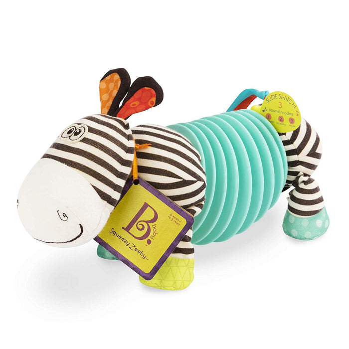 B. Toys Squeezy Zeeby-Soft accordeon Zebra