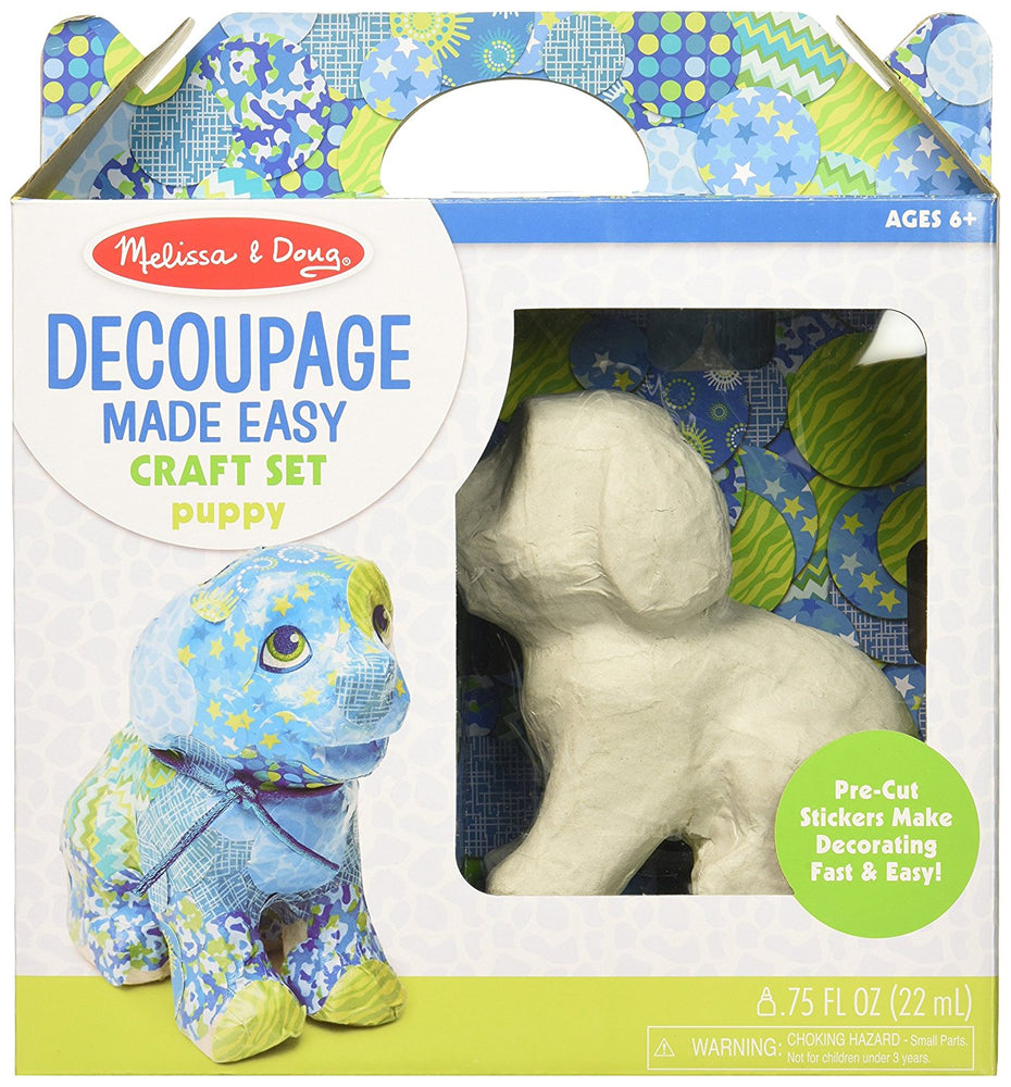 Melissa & Doug and Doug Decoupage Made Easy - Puppy