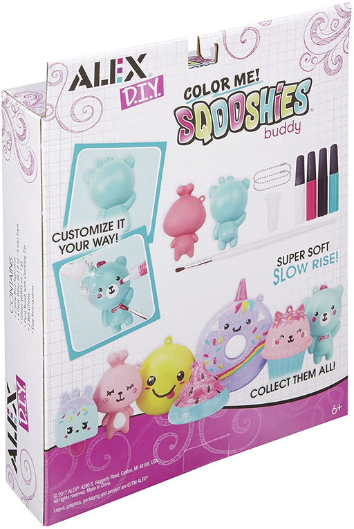 Alex Toys Color Me Sqooshies Buddy