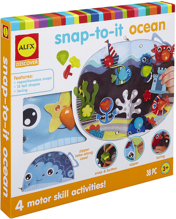 Alex Toys Snap-To-It Ocean