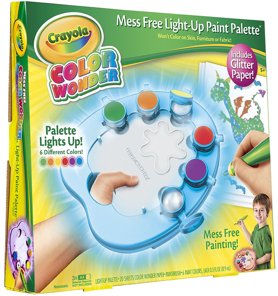 Crayola Light Up Paint Palette & Paper