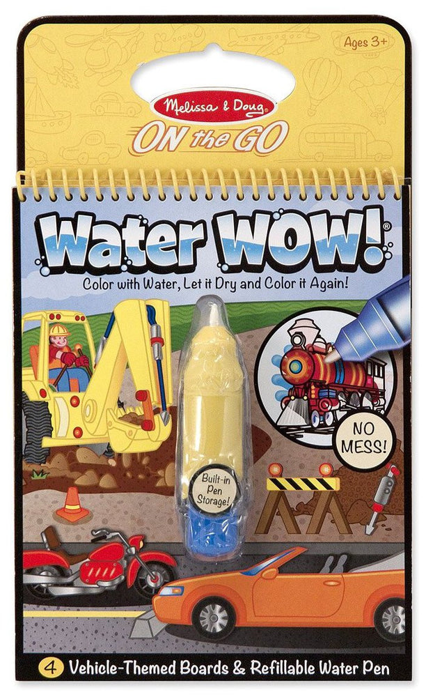 Melissa & Doug Water Wow!-Vehicles