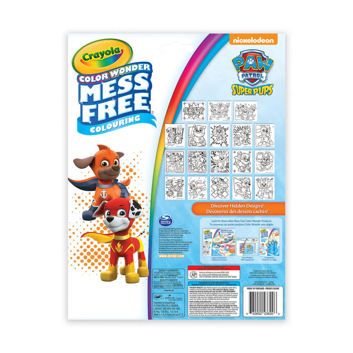 Crayola Colour Wonder PAW Patrol Pad