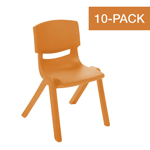 ECR4KIDS Resin Stacking Chairs