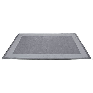 Two-Tone Area Rug 7.5ft x 12ft Rectangle - Grey
