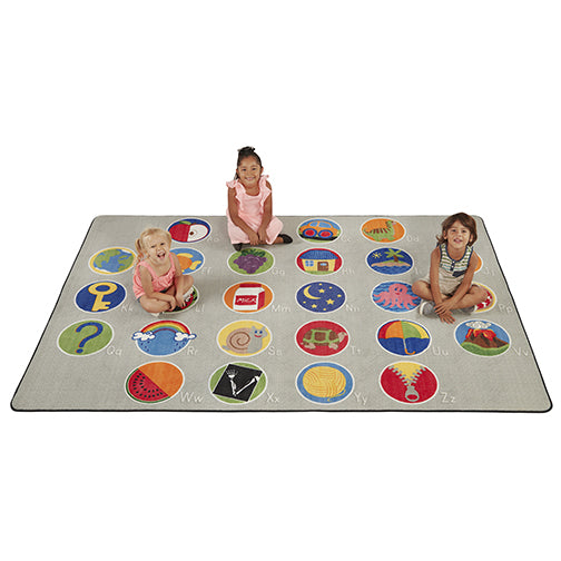 A-Z Activity Seating - 6ft x 9ft Rectangle