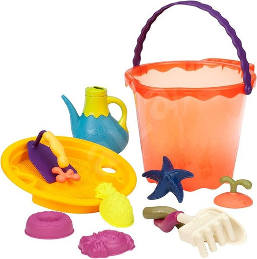 B. Toys Large Bucket Set Red
