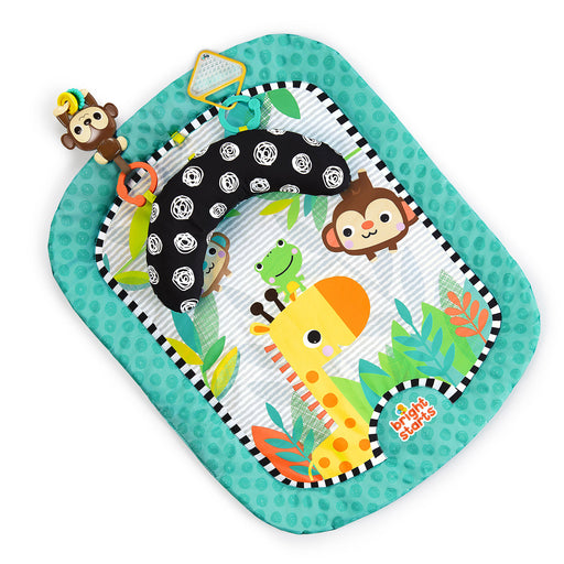 Bright Starts Giggle & See Safari Prop & Play Mat