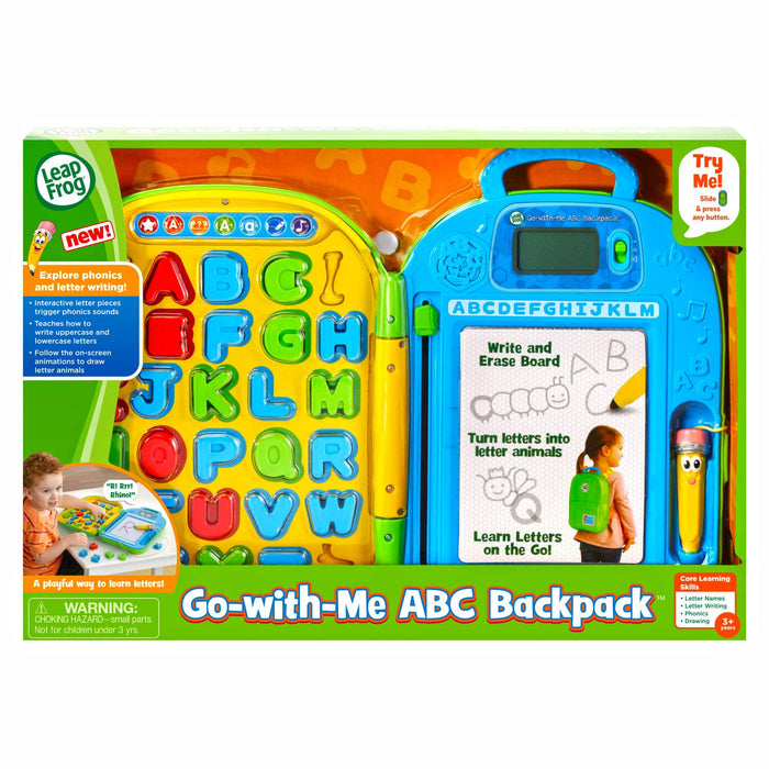 Leapfrog Go-with-Me ABC Backpack