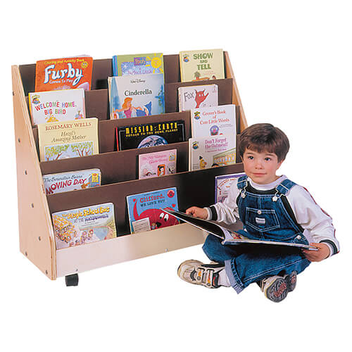 Trojan Primary Book Rack