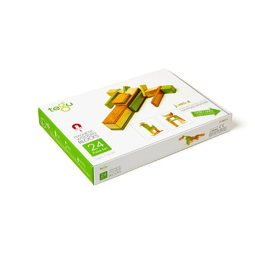 Tegu 24 Piece Set - Jungle