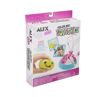 Alex Toys Color Me Sqooshies Emoji