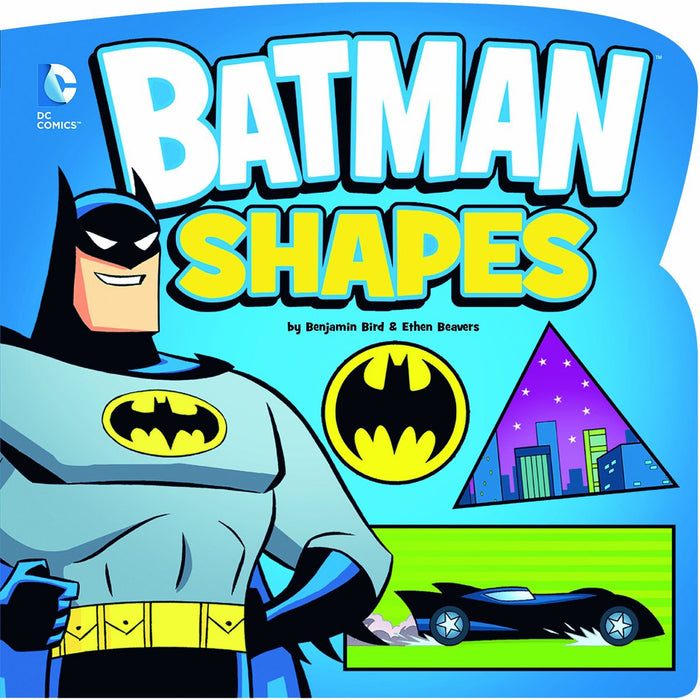 Batman Shapes by Benjamin Bird