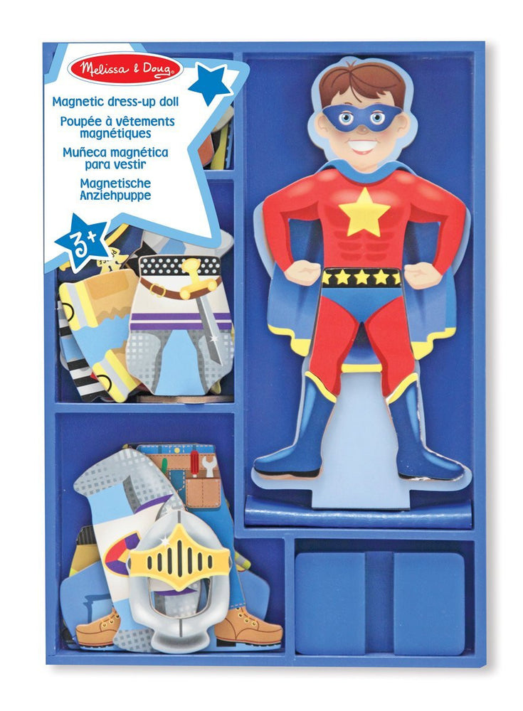 Melissa & Doug Billy Magnetic Dress-Up