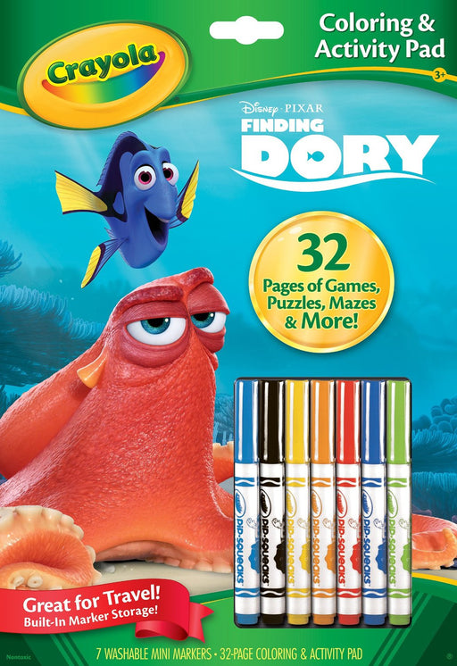 Crayola Finding Dory Colouring & Activity Pads