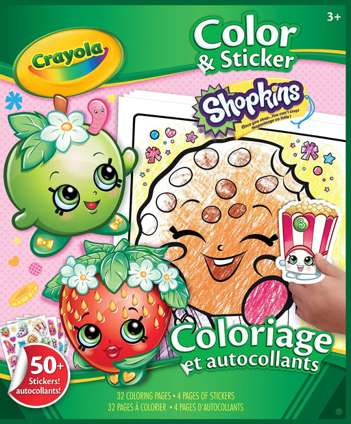 Crayola Shopkins Colour & Sticker