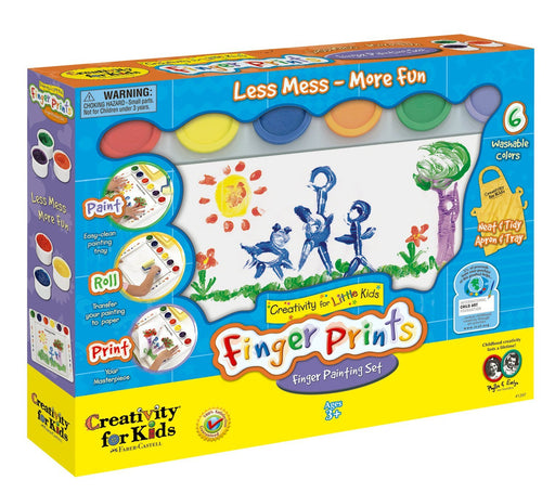 CREATIVITY FOR KIDS FINGER PRINTS