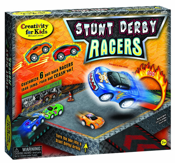 Creativity for Kids Stunt Derby Racers