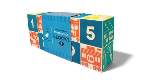 Uncle Goose Count & Stack Blocks