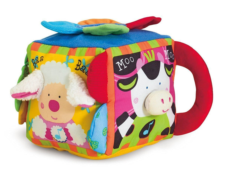 Melissa & Doug K's Kids Musical Farmyard Cube