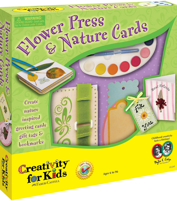 Creativity for Kids Flower Press & Nature Cards