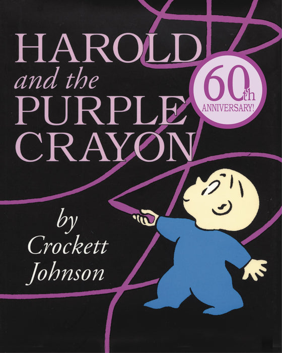 Harold and the Purple Crayon by Crockett Johnson