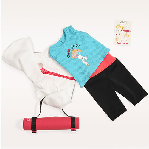 "Our Generation Ommm My Way (Yoga outfit) 18"" Doll Outfit"