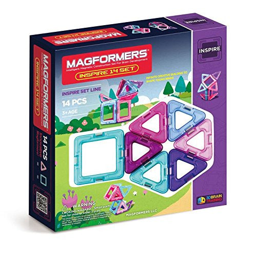 Magformers 14 Pieces Inspire Set