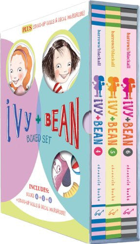 Ivy and Bean Boxed Set 2: Includes Book 4, Book 5, Book 6 and Ivy and Bean paper dolls and outfits by Annie Barrows
