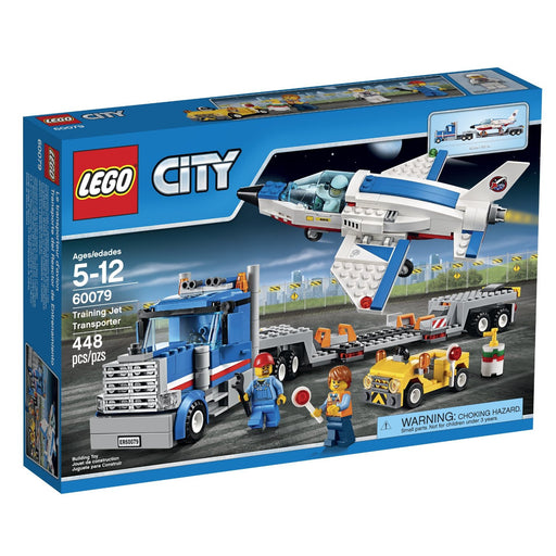 LEGO City Space Port Training Jet Transporter