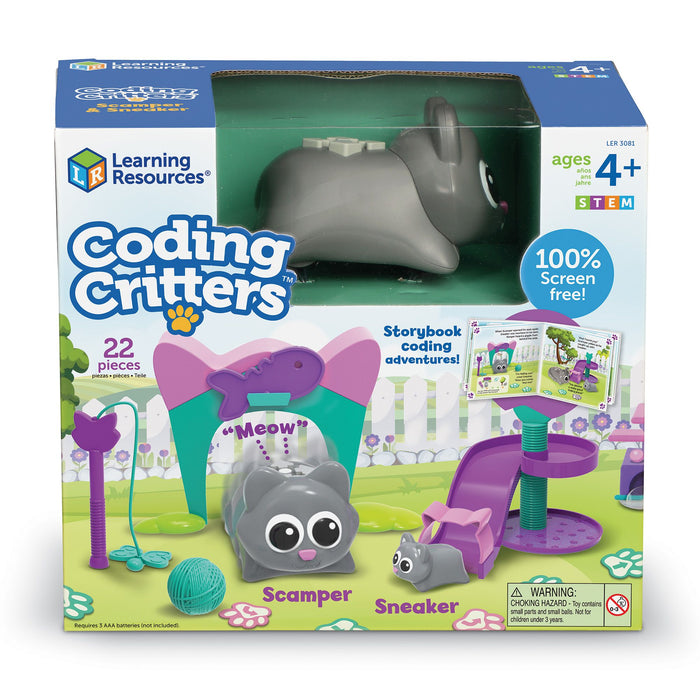 Learning Resources Coding Critters™ Scamper & Sneaker