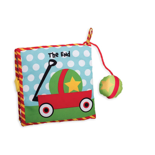 Manhattan Toys Find the Ball Soft Activity Book