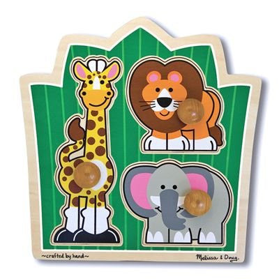 Melissa & Doug Deluxe Jungle Friends Jumbo Puzzle