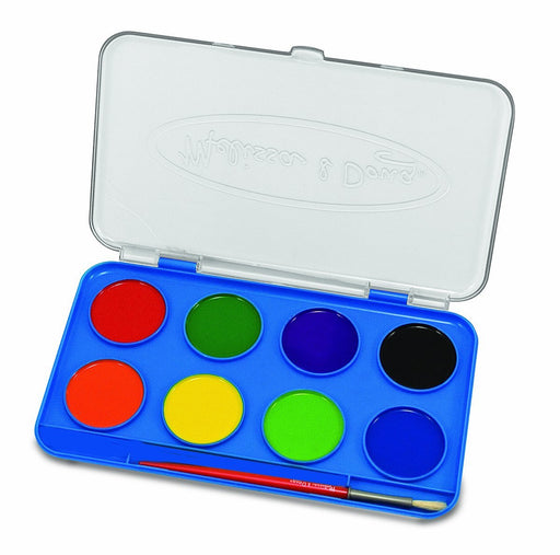 Melissa & Doug Jumbo Watercolor Paint Set (8 colors)