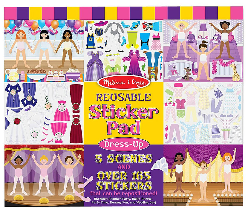 Melissa & Doug Sticker Pads-Dress-Up