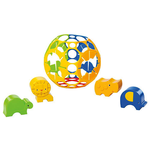 Oball Jungle Adventures Shape Sorter