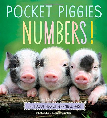 Pocket Piggies Numbers!: Featuring the Teacup Pigs of Pennywell Farm by Richard Austin