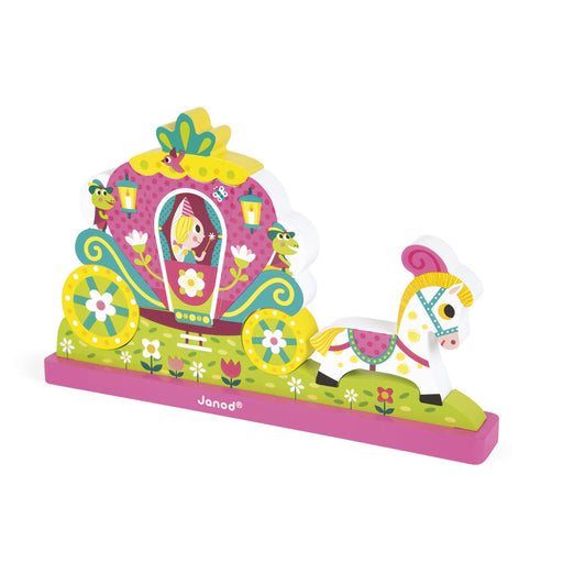 Janod Princess Magnetic Verticle Puzzle
