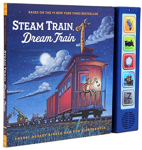 Steam Train, Dream Train Sound Book by Sherri Duskey Rinker